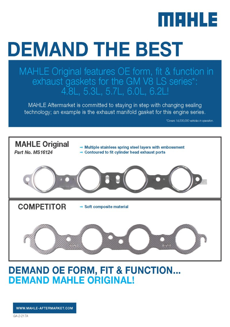 MAHLE Aftermarket North America | Gaskets