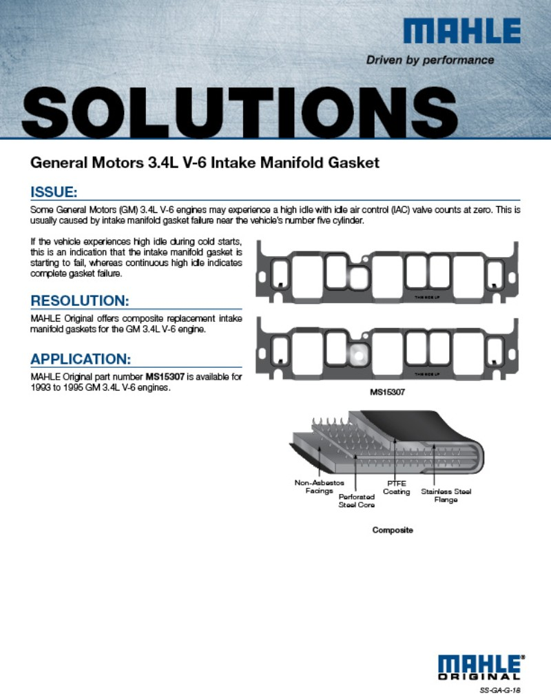 MAHLE Aftermarket North America | Gasket Solutions